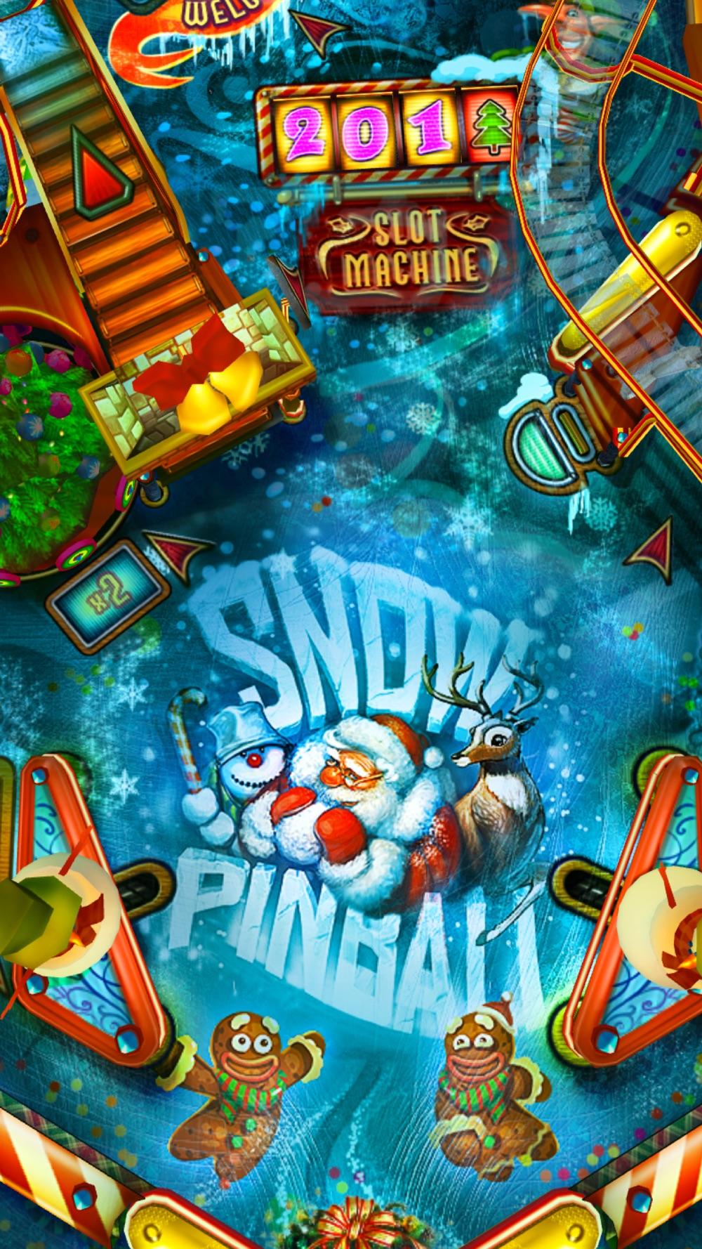 Snow Pinball: Santa's Christmas Factory! Cheat Codes