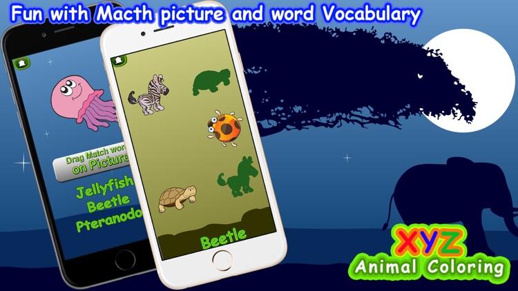 XYZ Animal Coloring Game screenshot-3