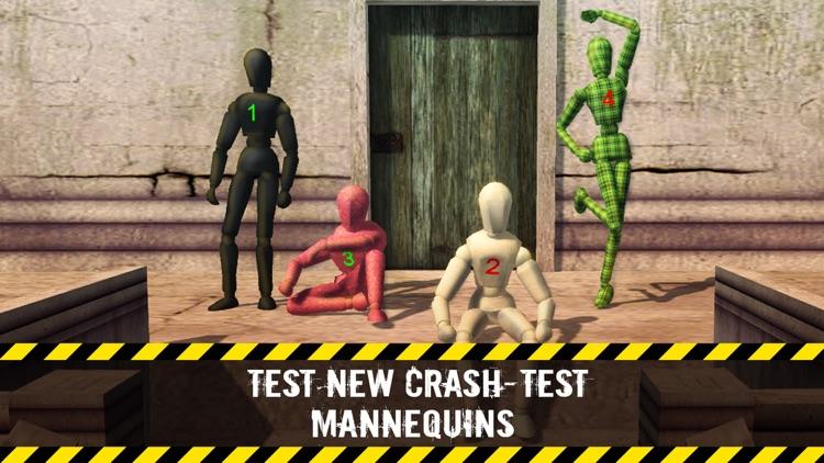 Stair Dummy Crash Test Simulator 3D
