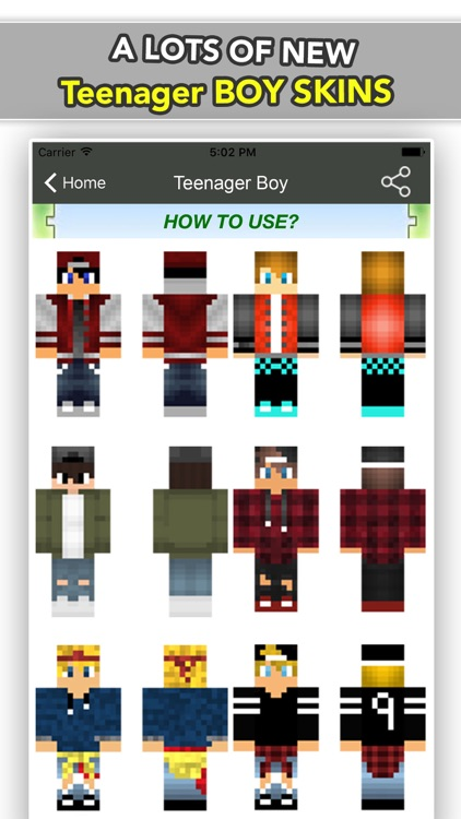 BEST Teenager Boy & Girl Skins For Minecraft PE screenshot-1