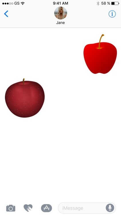 Apples Three Sticker Pack