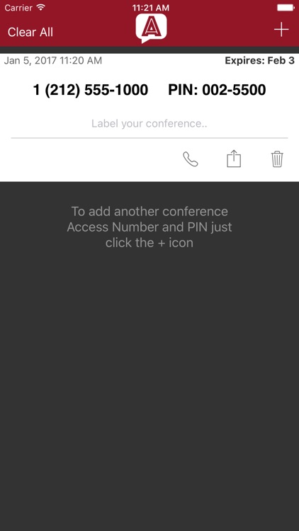Anonochat - Free instant conference calls