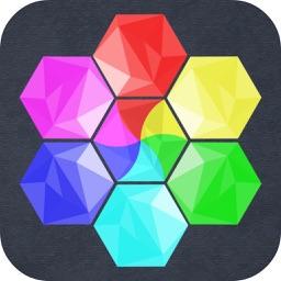 Mini Color Hexa Puzzle