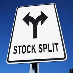 Stock Split Calendar