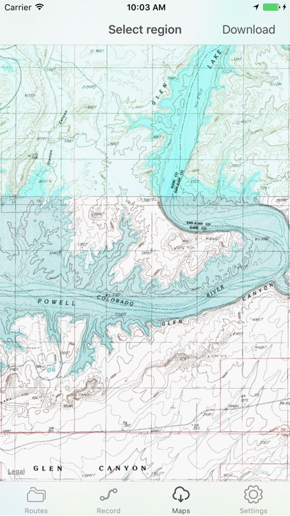 Topo World - topographic mapping and recording