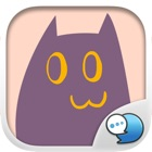 Purple Cat Stickers for iMessage icon