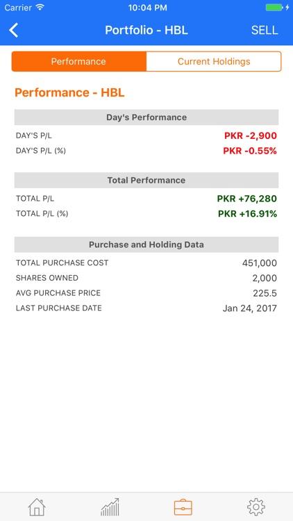 Investify Stocks PSX Pakistan screenshot-4