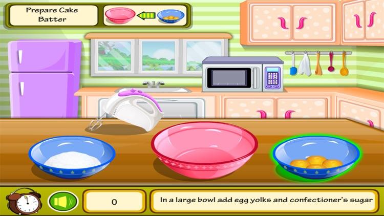 Cooking Cake Dash kitchen - girl games for kids