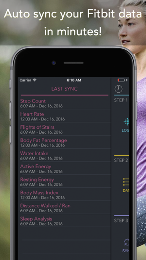 Sync for FitBit - Fitbit to Apple Health Screenshot
