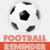 サッカーのリマインダーアプリ - 時刻表活動スケジュールリマインダー、スポーツ