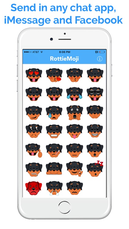 RottieMoji - Rottweiler Emojis and Stickers screenshot-3