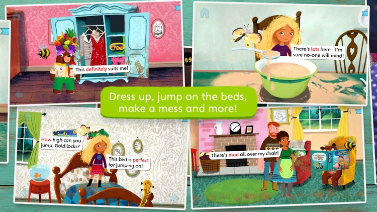 Goldilocks and Little Bear by Nosy Crow screenshot-1