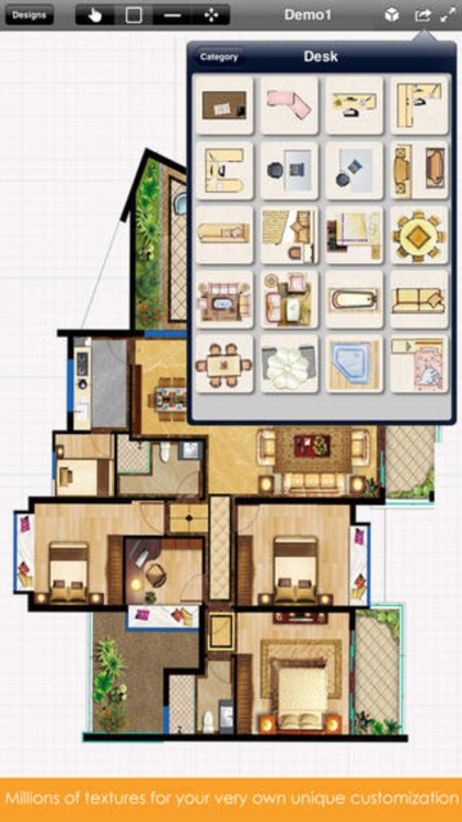 Interior Design 3D - floor plan & decorating ideas screenshot-3