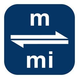Meters to Miles | Meter to Mile | m to mi
