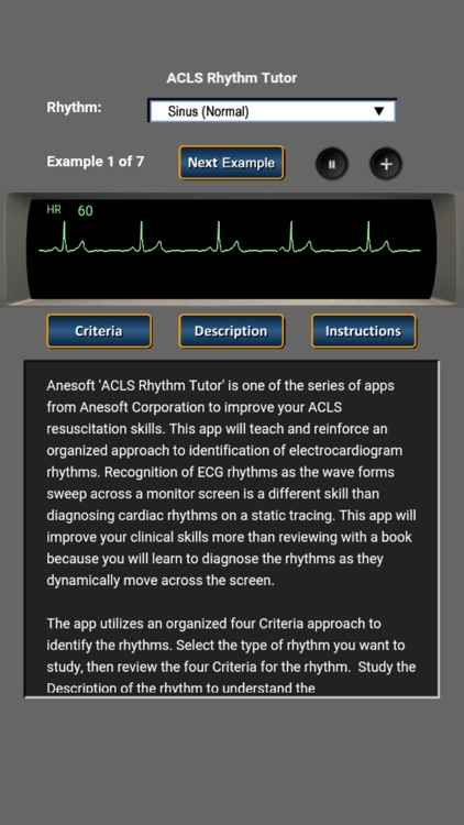 ACLS Rhythm Tutor screenshot-0