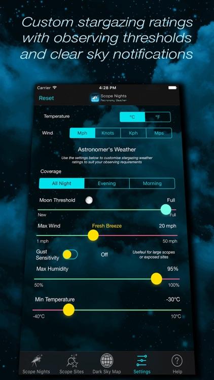 Scope Nights Astronomy Weather screenshot-4