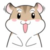 Sassy Hamster - Cute stickers for iMessage