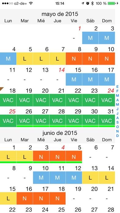 download calendario de turnos de trabajo apps 1