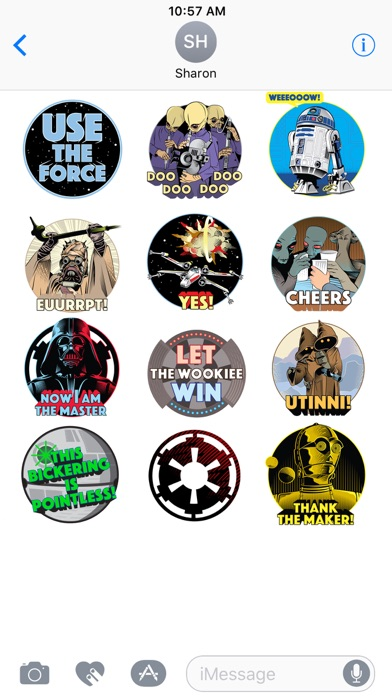 Star Wars Stickers: 40th Anniv screenshot 2