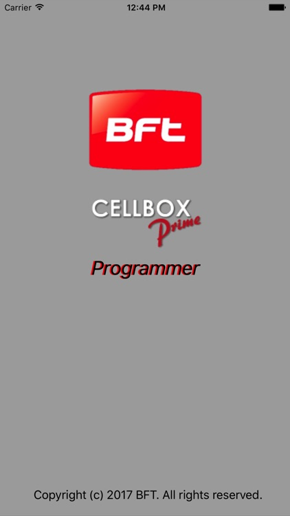 BFT CellBox Programmer by Paul Creighton