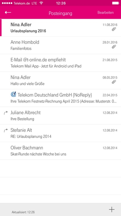 Telekom Mail screenshot-3