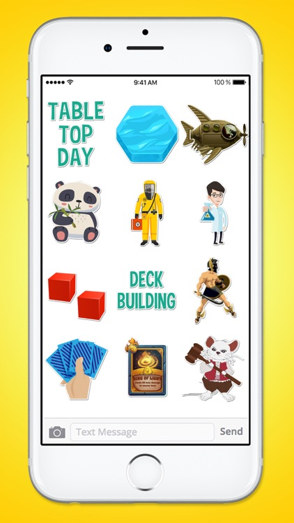 Table Top Board Games BIG 140 Sticker Pack screenshot-4