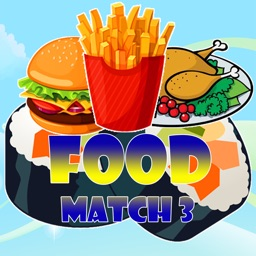 Food Match 3 - build Food Puzzle & Game for kids