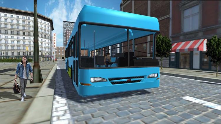 Metro City Bus Public Transport Driving Simulation screenshot-3