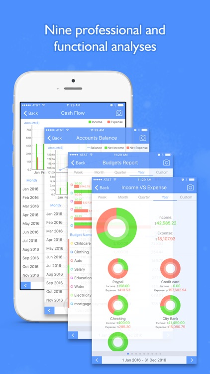 Money Focus Pro - Account, Budget and Bill Manager screenshot-3