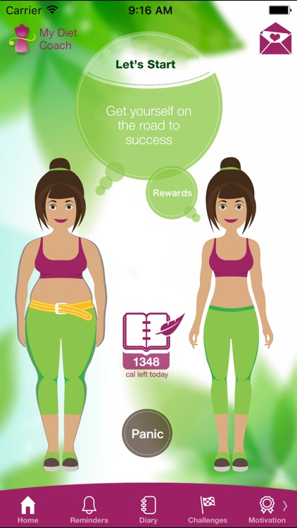My Diet Coach Weight Loss Booster, Calorie Counter app image