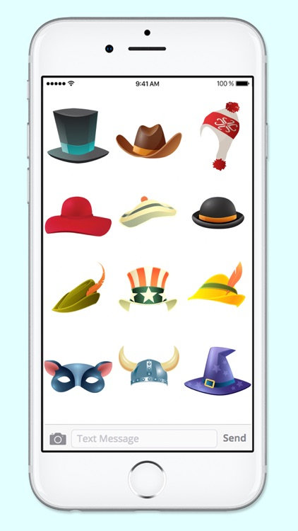 Lots of Hats and Fun Disguises Sticker Pack screenshot-4