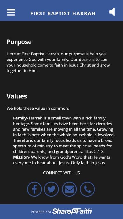 First Baptist Harrah screenshot-4