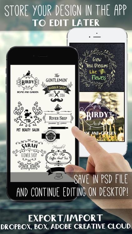 HD Logo Maker & Logo Design screenshot-4