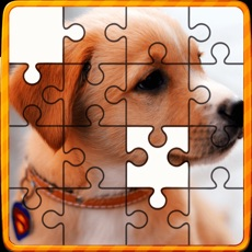 Activities of Animal Jigsaw Puzzles : puppy & cat puzzles