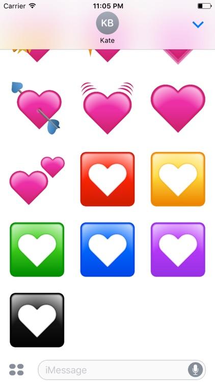 Heartmojis