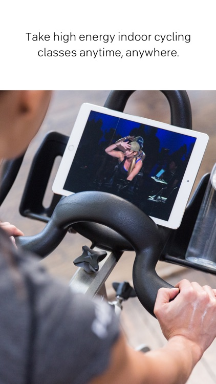 Peloton Cycle: Live Fitness Indoor Cycling Classes app image