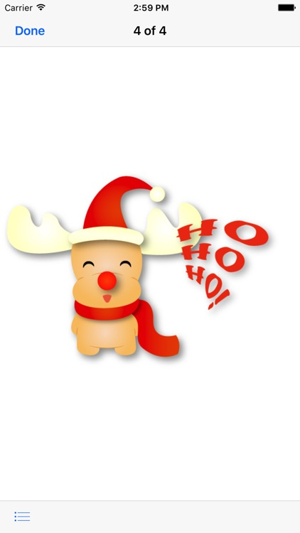 Rudolf - Christmas Emoji screenshot-2
