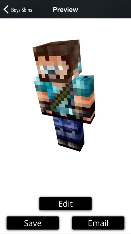Boy Skins Pack+Editor For Minecraft PE