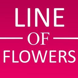 Line of Flowers
