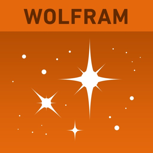 Wolfram Stars Reference App icon