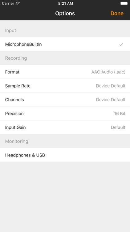 Auphonic Recorder screenshot-1
