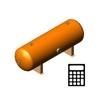 圧力容器の電卓 - 機械技術者