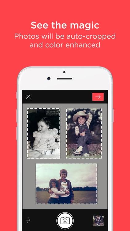 Scanner App by Photomyne: Scan & Auto-Crop Photos