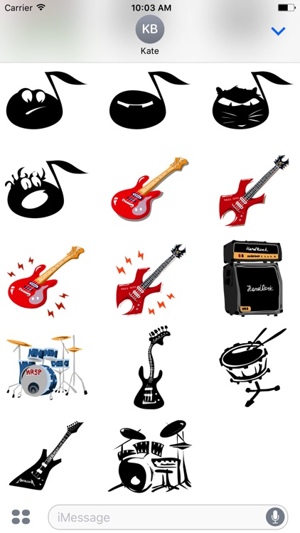 HardRock Stickers