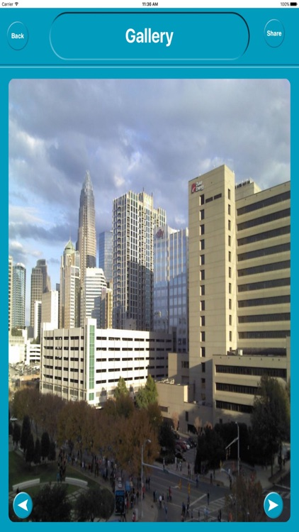 Charlotte NC USA Offline Map Navigation GUIDE screenshot-4