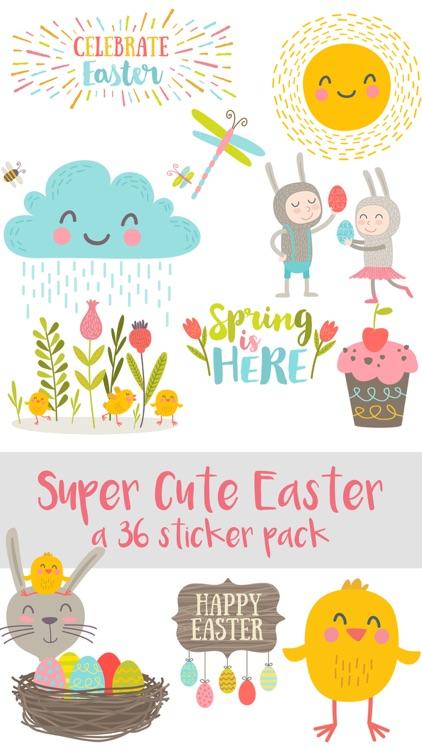 Super Cute Easter Sticker Pack