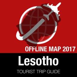 Lesotho Tourist Guide + Offline Map
