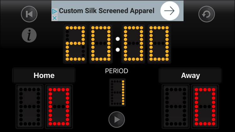 JD Sports Scoreboard iPhone