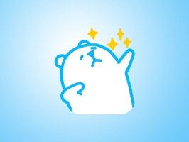 Cute Little White Bear Sticker Pack for iMessage is the most lovely sticker pack