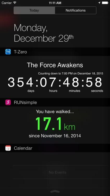 T-Zero Countdown Timer